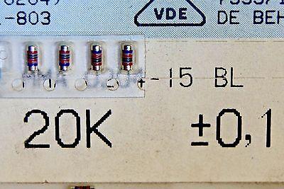 1000pcs KIT assortment resistors minimelf 0.4W  1% BEYSCHLAG DRALORIC VITROHM