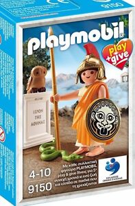Playmobil-Athena-9150-Neu-OVP-Sonderfigur-play-give-griechische-Goettin