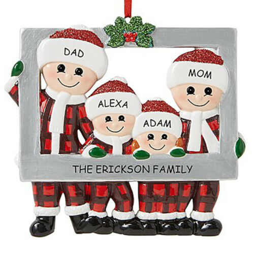 Details about  /Christmas Xmas Hanging Ornaments 2020Xmas Family Kids Gifts Home Decorations