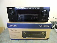 Denon AVR-X2300W 7.2 Channel Full 4K Ultra HD A/V Receiver with Bluetooth WiFi