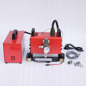 Protable handle  Pneumatic Dot Peen Marking Machine VIN Code Portable Handheld