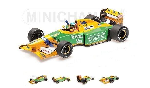 tiempo libre Benetton Ford B192 B192 B192 – M. Schumacher – 3rd German GP 1992  19 - Minichamps (1 18)  ventas en linea