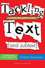 Tackling Text: A step-by-step guide for actors by Barbara Houseman (Paperback, 2008)