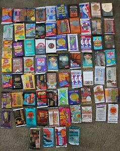 ESTATE-SALE-Lot-of-Old-Vintage-BASKETBALL-Cards-In-Unopened-Packs