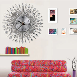 Modern-Wall-Clock-Diamante-Crystal-Timelike-Hanging-Clock-for-Home-Decoration