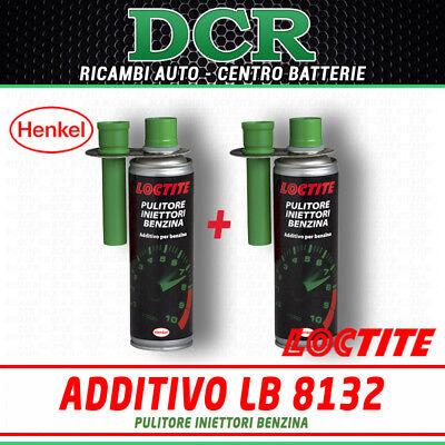 2Pz Additivo Pulitore Iniettori Benzina LOCTITE LB 8132 300ml HENKEL 1551374