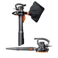 WORX WG507 3-in-1 12 Amp 2-Speed Electric Blower/Vac/Mulcher
