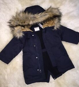 J.Crew Crewcuts $168 Boys Fishtail Parka jacket coat NWT 2 Vintage ...