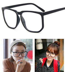 aad4575b67e Oversize square Eyeglass Frames Women Men Full-rim Eyewear Glasses ...