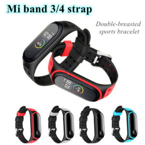 For-Xiaomi-Mi-Band-3-4-Strap-Replacement-Bracelet-Silicone-Wristband-Watch-Band