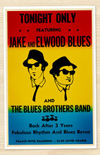 8.5x11 The Blues Brothers Movie Replica Prop Concert Poster Print Belushi SNL