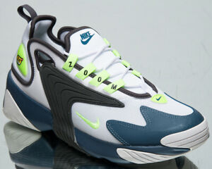 Details about Nike Zoom 2K Men's White Ghost Green Iron Grey Casual  Lifestyle Sneakers Shoes