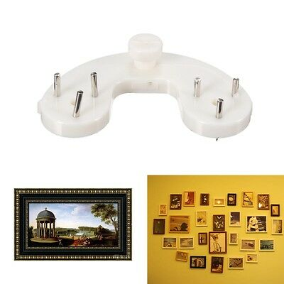 Hard Wall Photos Picture Frame Mirror Small Hanging Hook Hanger Groove Holder
