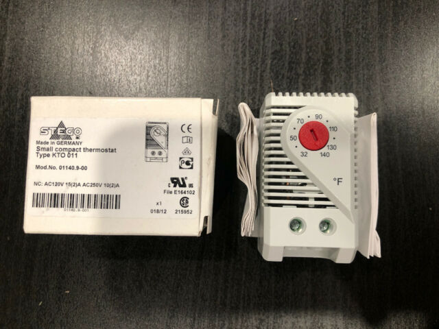 Stego Thermostats KT 011 Series 01141.9-00 Thermostat Controller Quantity 2
