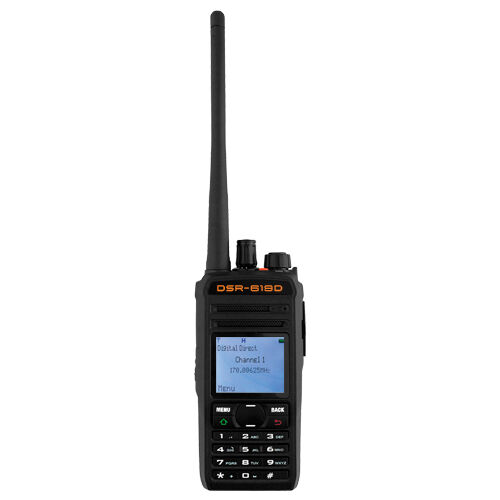 Walkie Talkie Portable Two-Way Radio Transceiver DSR Ultra-High Frequency