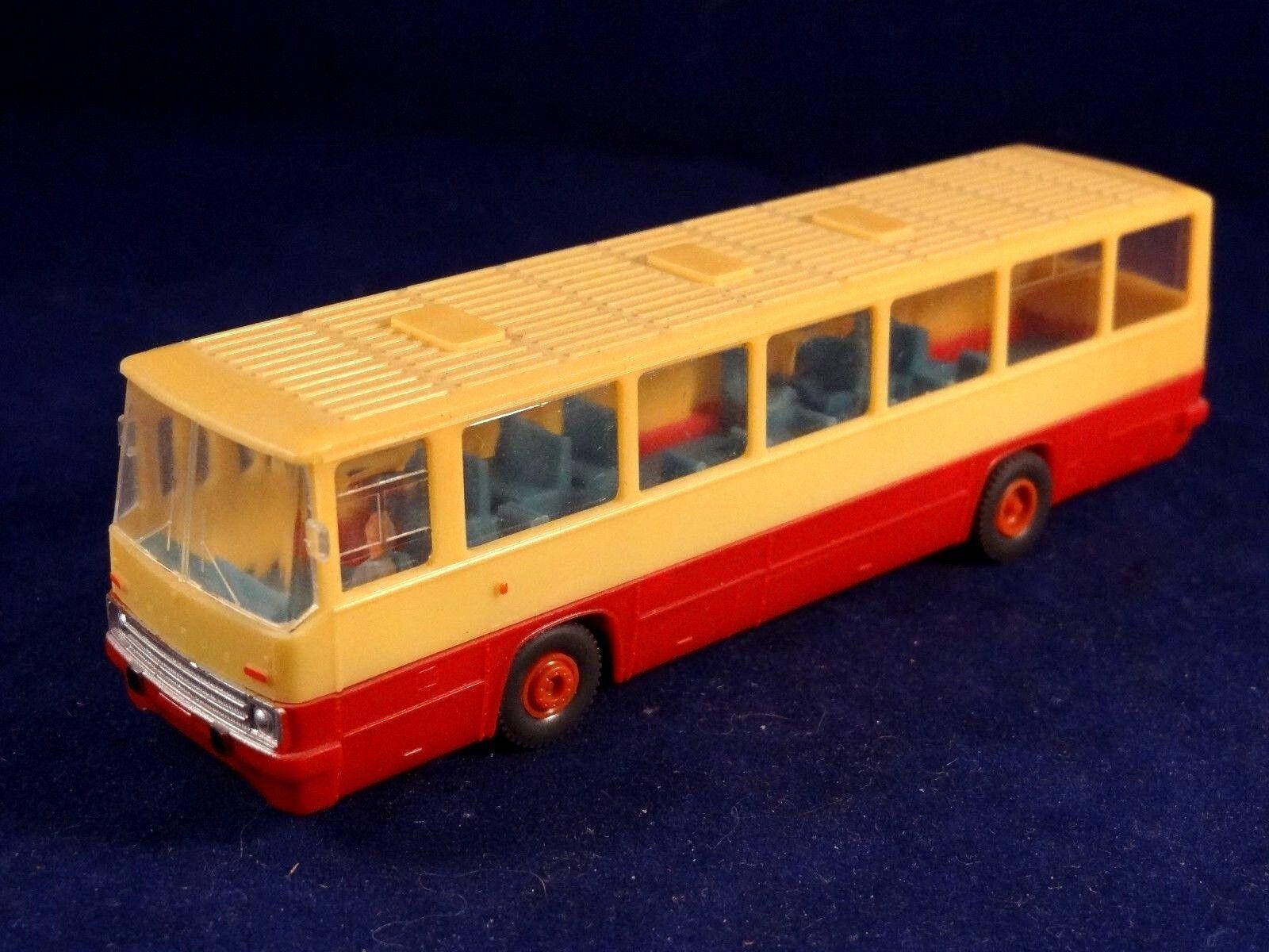 Ancien jouet BUS miniature autocar IKARUS transporteur Hongrois
