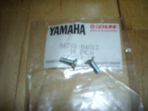 Vintage Snowmobile Yamaha GP GPX PR SL GS EX ET Flat Head Screw LOT 98701-04012