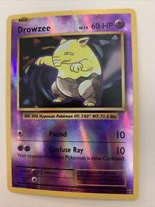 Pokemon XY Evolutions Reverse Holo Drowzee 49//108 TCG Card Near Mint//Mint