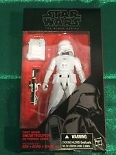 "First Order Snowtrooper STAR WARS The Black Series 6/"" Figure AUTHENTIC #12 12"