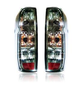 NISSAN-FRONTIER-NAVARA-D40-2005-2013-TAIL-LIGHT-REAR-LAMP-BLACK-SMOKE-LENS