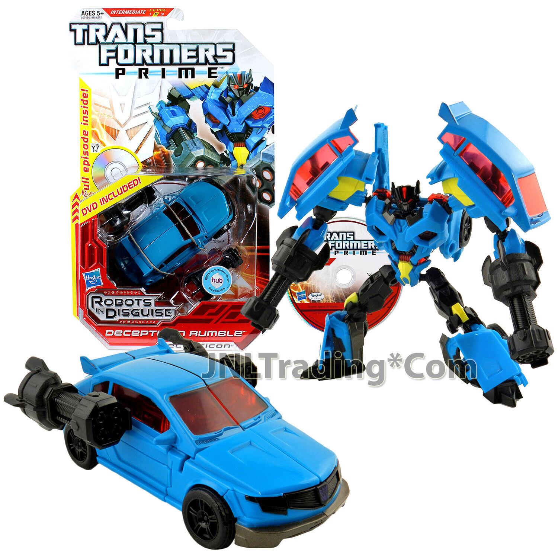 2012 Transformers RID Year PRIME DELUXE classeE 6 cifra  14 dei Decepticon Rumble
