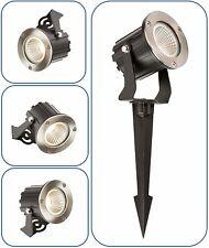 Knightsbridge 230V IP65 5W LED Parete/Punte Faro Interno/Luce Esterna Per