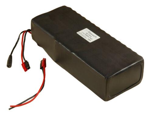 36V/37V 20Ah Lithium-ion/Li-ion Battery 100x 18650 Cells Rubber PVC Wrap eBike!