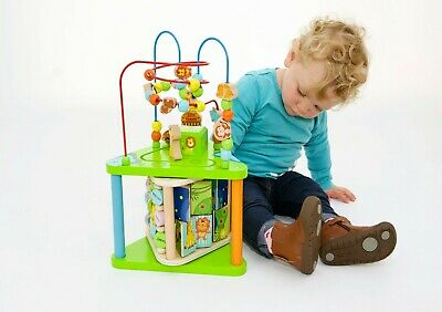 Large Play Cube with Music and Puzzles 18 months+ Activity Centre for Toddlers