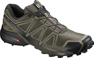 salomon womens speedcross 4 wide trail shoes zip