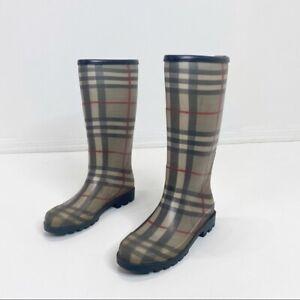 Burberry-Women-s-Rain-Boots-Size-6-USA