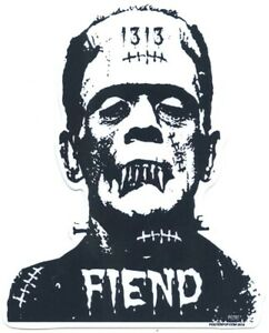 Franken-Fiend-STICKER-Decal-Eric-Pigors-PG68-Frankenstein