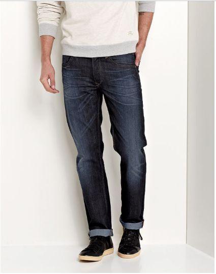 Lee® DAREN Regular Slim Fit Stretch Jeans Strong Hand - 42 34 SRP .00 SALE