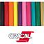 """s Oracal 651 Permanent Self Adhesive Indoor Outdoor Craft Vinyl 24/"""" Width Roll"""