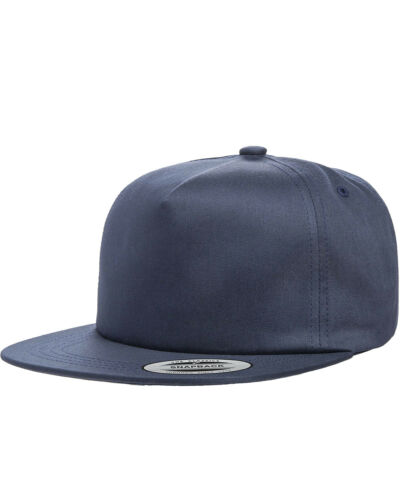 Yupoong Adult Unstructured 5-Panel Snapback Cap-Y6502