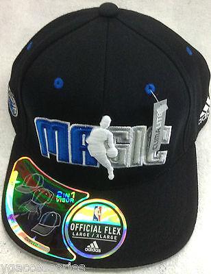 Memorabilia Nwt Nba Orlando Magic Adidas Flex Fit Structured Cap Hat New