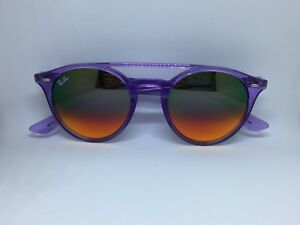 246431889e7 Image is loading RAY-BAN-RB4279-sunglasses-round-violet-double-bridge-
