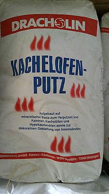 """Dracholin /"""" Allrounder/"""" bis 1mm Körnung  Kachelofenputz Ofenputz Kaminputz Putz"""