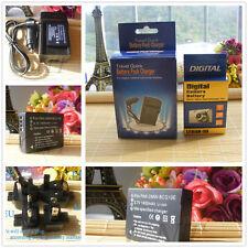 Battery +Charger for Panasonic Lumix DMCZS10, DMCZS15, DMCZS19, DMCZS20, DMCZS25