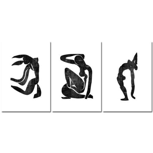 Matisse Art Minimalist Canvas Poster Abstract Woman Wall Art Print Modern Decor