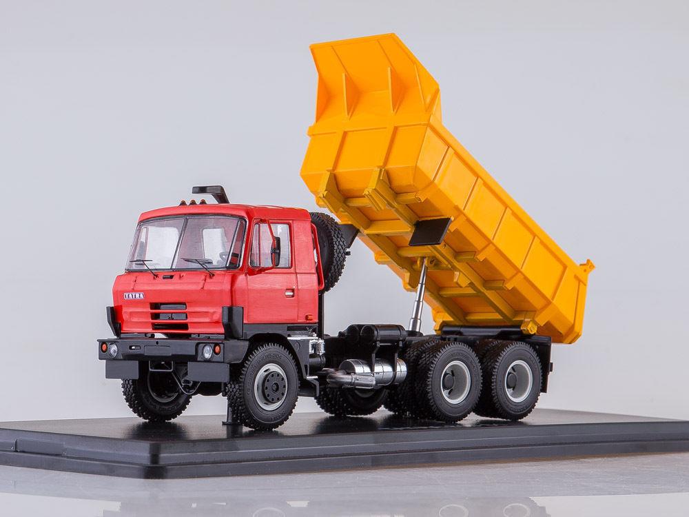 1 43 TATRA 815 S1. Premium Classixxs PCL47020. rot Gelb.