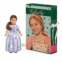American Girl Book Felicity Boxed Set & Mini Doll Board Game 6 Paperback