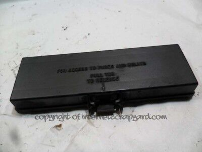 details about jeep grand cherokee zj zg 93-99 4 0 relay fuse box top lid  cover