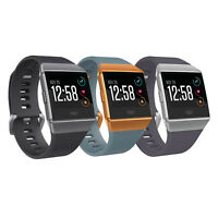 Fitbit Ionic Fitness Tracker Smart Watch with Heart Rate Monitor (S & L Bands Included) (Charcoal/Smoke Gray) + $20 Kohls Cash