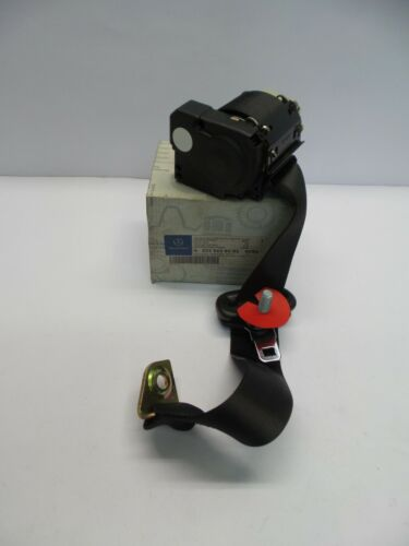 Original MERCEDES-BENZ W203 Sicherheitsgurt schwarz hinten links A20386083859C94