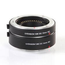 FOTGA Auto Focus AF Macro Extension Tube 10mm+16mm f Nikon 1 Mount J1 J2 J3 Lens