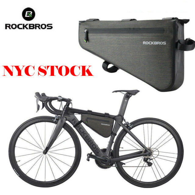 Bicycle Triangle Bag Bike Frame Front Tube Waterproof Cycling Pouch L