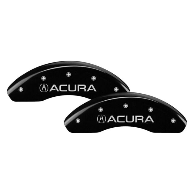 For Acura RDX 07-12 Caliper Covers Gloss Black Caliper