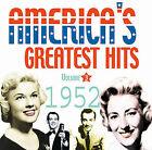 America's Greatest Hits, Vol. 3: 1952 by Various Artists (CD, Jun-2005, Acrobat (USA))
