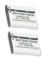 2 Li-50b Batteries For Olympus Tg-805 Tg-610 Tg-810 Sp-800uz Sp-810uz Sz-10 Sz20
