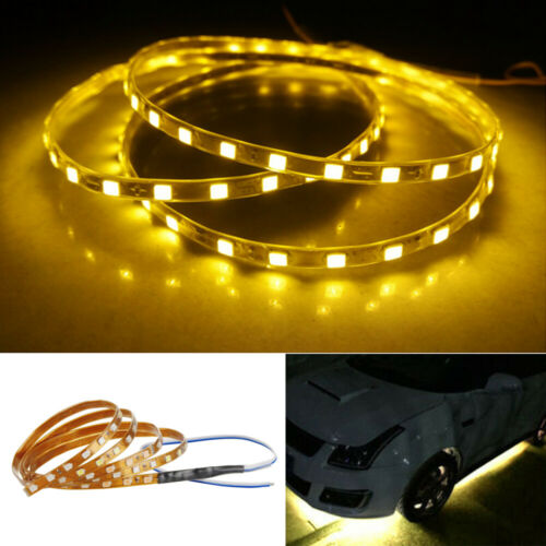 5//10//20//50X Flexible DC 12V Motor LED Strip Underbody Light For Car Motorcycle K